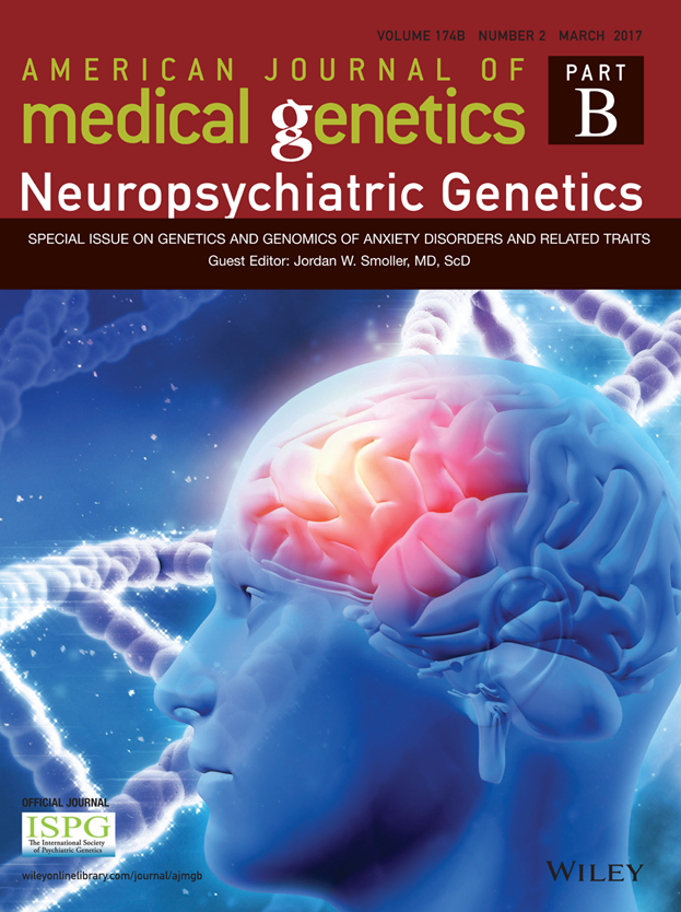 American Journal Of Medical Genetics Part B Neuropsychiatric